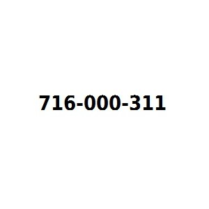 Infolinia 716000311