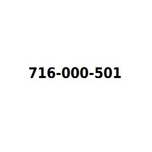 Infolinia 716000501