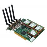 Allo 4 moduły GSM (PCI & PCI express)